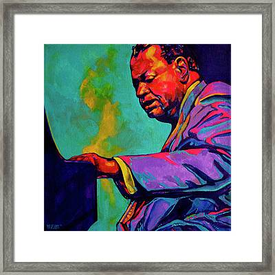 Piano Player Framed Print by Derrick Higgins