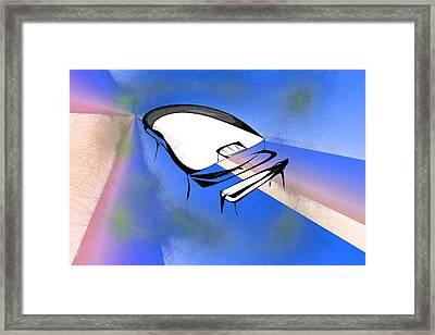 Piano Framed Print by Rick Thiemke