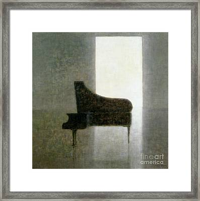 Piano Room 2005 Framed Print by Lincoln Seligman