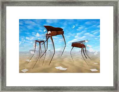 Piano Valley Framed Print by Mike McGlothlen