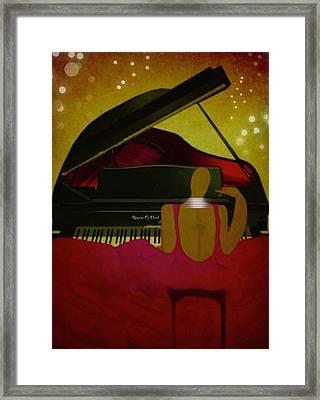Pianochic Framed Print by Romaine Head