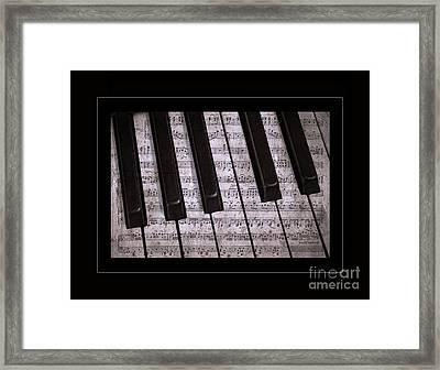 Pianoforte Classic Framed Print by John Stephens