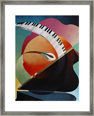 Pianoforte Framed Print by Fred Chuang