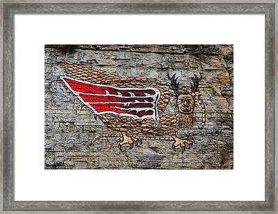 Piasa Bird Framed Print