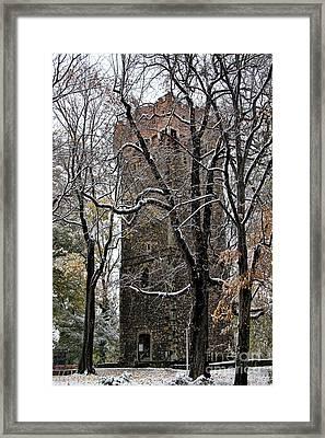 Piastowska Tower In Cieszyn Framed Print
