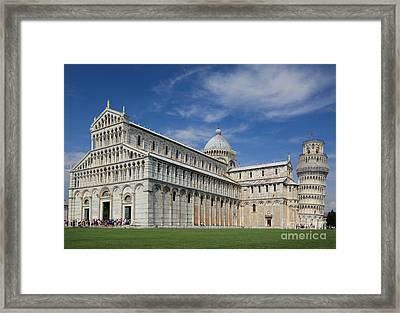 Piazza Dei Miracoli Framed Print by Inge Johnsson