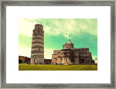 Piazza Dei Miracoli - Pisa - Toscana Framed Print