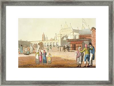Piazza Del Mercato, Buenos Aires Framed Print by Paolo Fumagalli