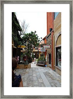 Piazza Palio - Khaoyai Thailand - 01132 Framed Print by DC Photographer