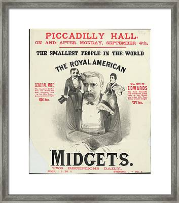 Piccadilly Hall Framed Print by British Library