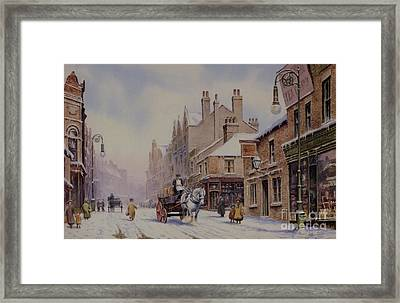 Piccadilly Hanley Framed Print by Anthony Forster