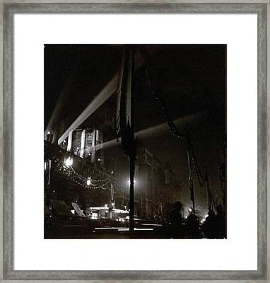Piccadilly Hotel In London Framed Print
