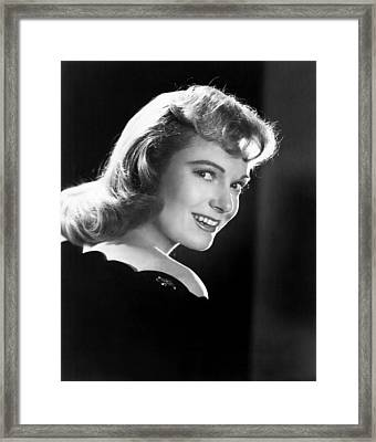 Piccadilly Incident, Anna Neagle, 1946 Framed Print