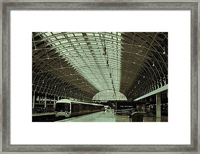 Piccadilly Station Framed Print