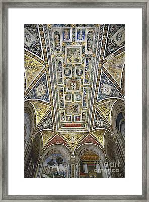 Piccolomini Library Of  Siena Duomo Framed Print