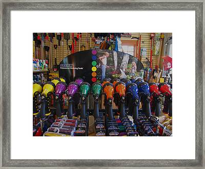 Pick A Color  Any Color Framed Print by Kym Backland