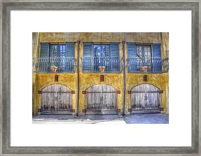 Pick A Door Framed Print by Wendy Elliott