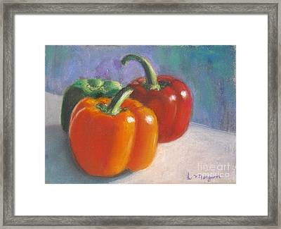 Pick A Pepper Framed Print