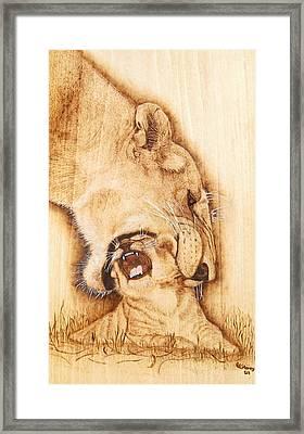 Pick Me Up Framed Print by Roger Storey