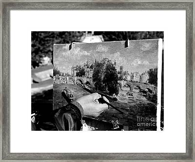 Pic...k The Artist Framed Print