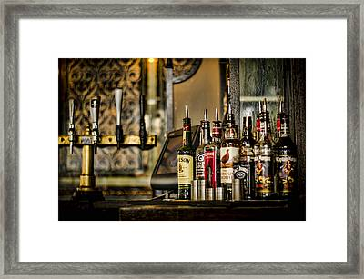 Pick Your Poison Framed Print