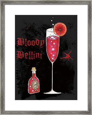 Pick Your Poison IIi Framed Print by Elyse Deneige