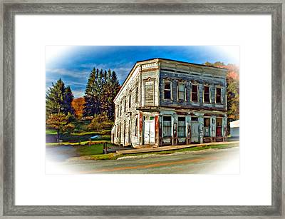 Pickens Wv Painted Framed Print by Steve Harrington