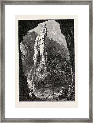 Pickering Tor, Dove Dale, The Dales Of Derbyshire Framed Print
