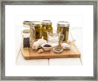 Pickling  Framed Print by Edward Fielding
