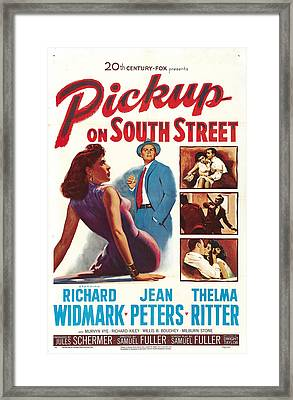 Pickup On South Street - 1953 Framed Print