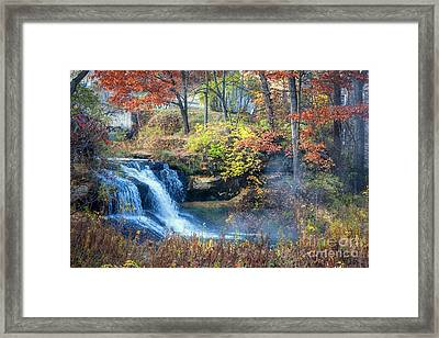 Pickwick Mill Falls Framed Print