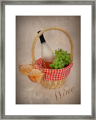 Picnic Framed Print by Cindy Haggerty