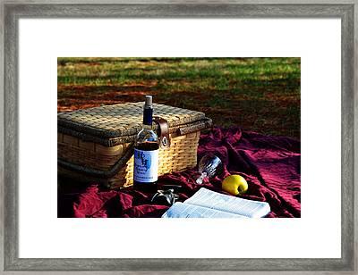 Picnic Framed Print by Karen Seddon