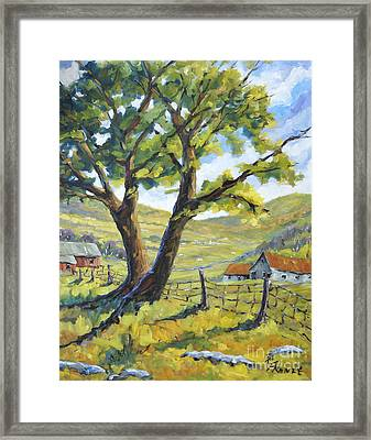 Picnic With A View By Prankearts Framed Print
