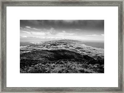 Pico Da Barrosa Framed Print