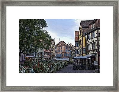 pictorial Colmar Framed Print by Joachim G Pinkawa