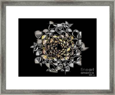 Pictorial Confusion And Diffusion Framed Print by Elizabeth McTaggart