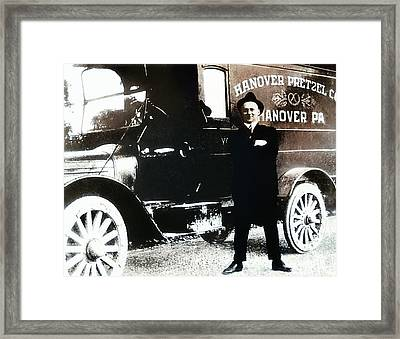 Picture 18 - New - Hanover Pretzel Framed Print