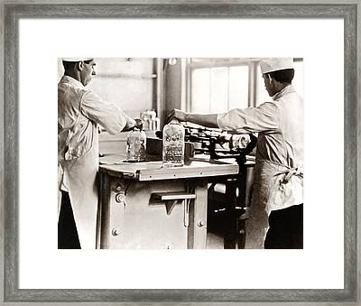 Picture 4 - New - Making Jars Framed Print
