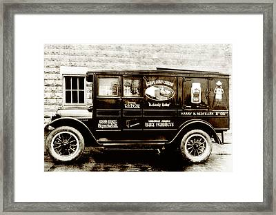 Picture 9 - New - Redfern Delivery Truck - Wide Framed Print