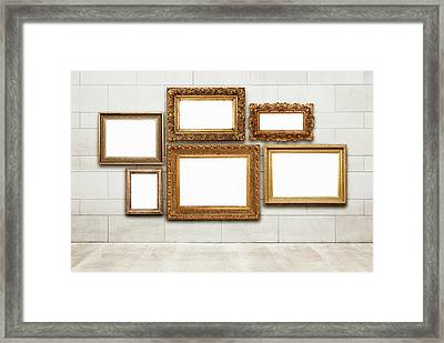 Picture Frames Framed Print by Jorg Greuel