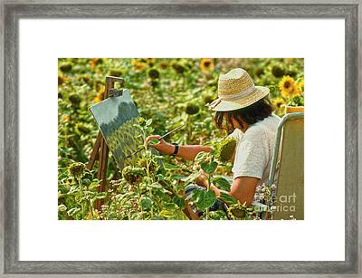 Picture In A Picture Framed Print