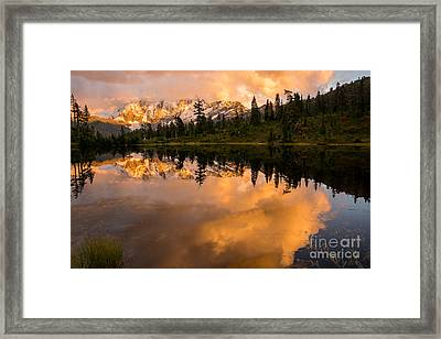 Picture Lake 1 Framed Print