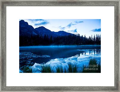 Picture Lake 3 Framed Print