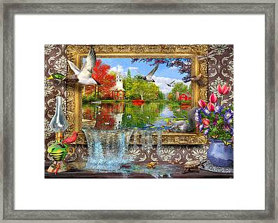 Picture Of Life Framed Print