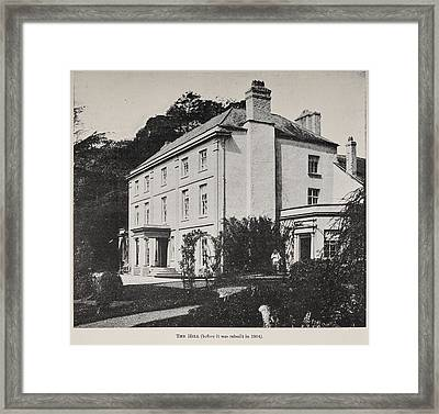 Picture Of Monmouthshire House Framed Print by British Library