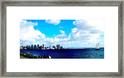 Picture Perfect San Diego Framed Print by William  Dorsett