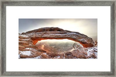 Framed Print featuring the photograph Picture Window by David Andersen
