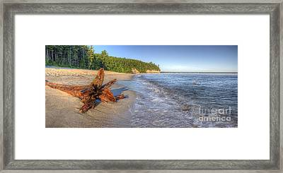 Pictured Rocks National Lakeshore Framed Print