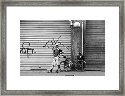 Pictures Of You.. Framed Print by A Rey